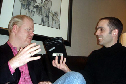 Todd and Jim Gaffigan