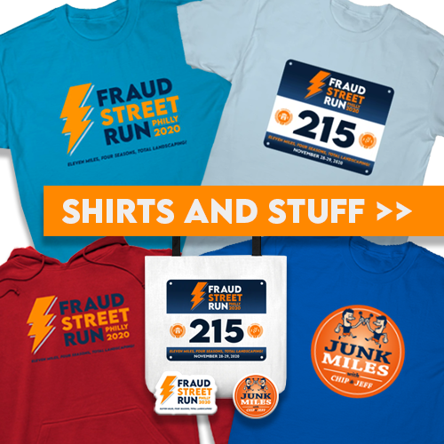 Fraud Street Run Merch